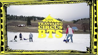 Traveling Circus 11.1-  Behind the Scenes - First Ever Blind Back Flip by LJ Strenio