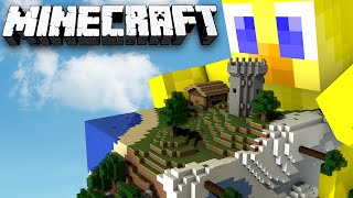 Minecraft Sky Cube Ep 3 - Ghost Spider Planet