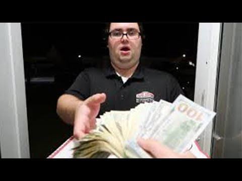 Tipping Pizza Delivery Guys $10,000