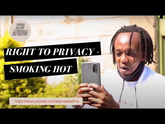 Right to Privacy - Smokin' Hot