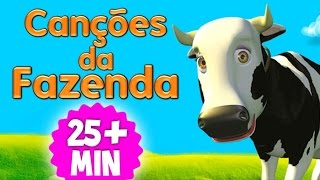 Mix As Canções da Fazenda do Zenão - Músicas Compiladas | O Reino das Crianças