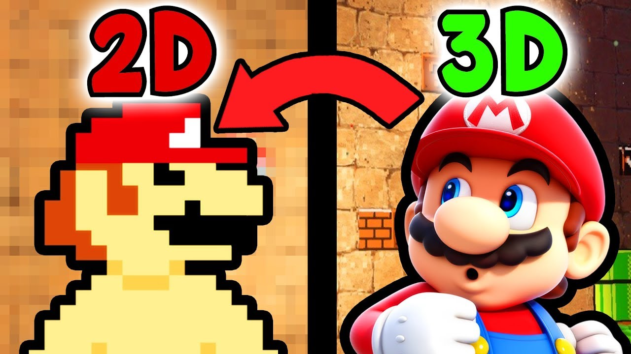 How Super Mario Odyssey Combined 2d And 3d Perfectly