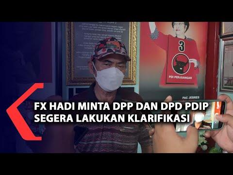 Download FX Rudi Minta DPP Dan DPD PDIP Segera Beri Klarifikasi