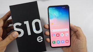 Samsung Galaxy S10e Unboxing & Overview Compact Flagship