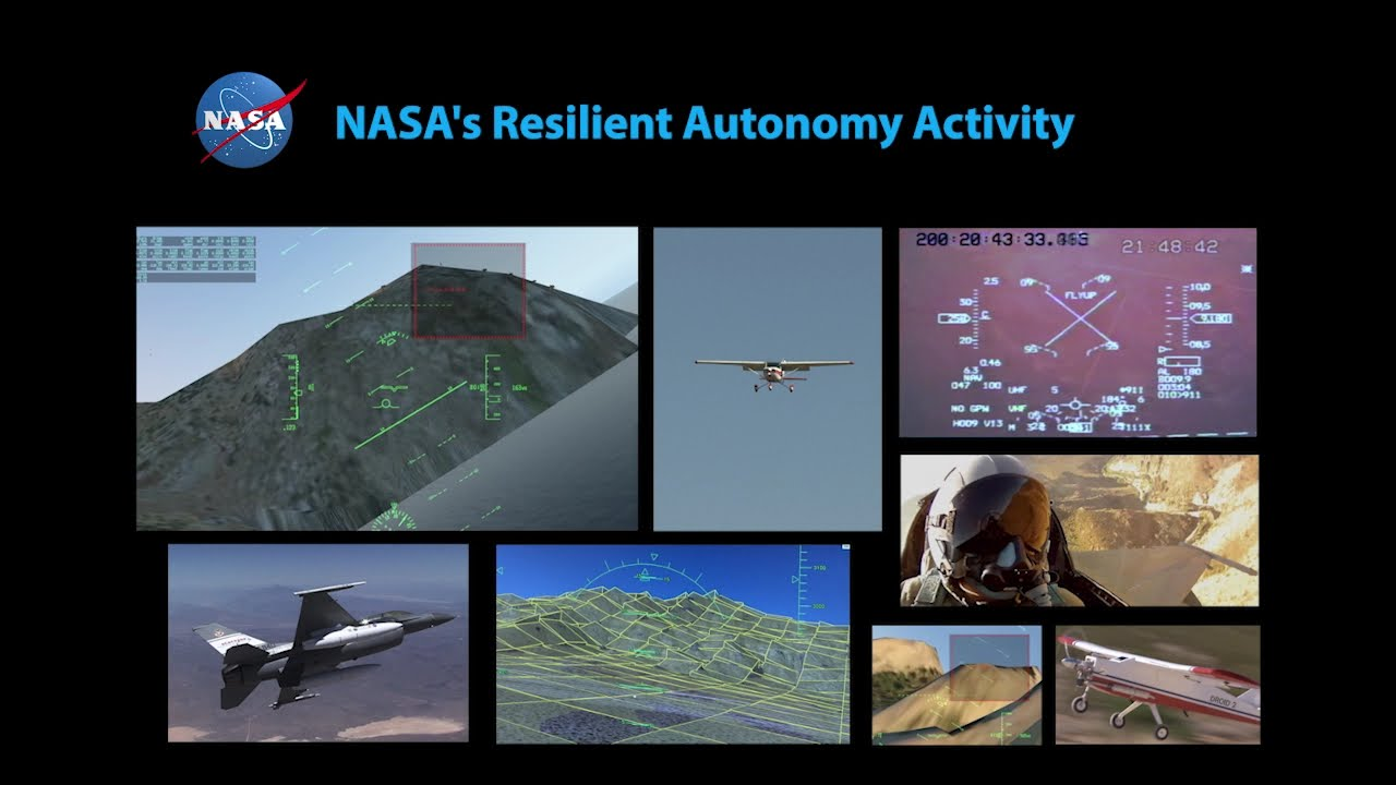 Autonomous Software Saves Aircraft in NASA Simulator Footage