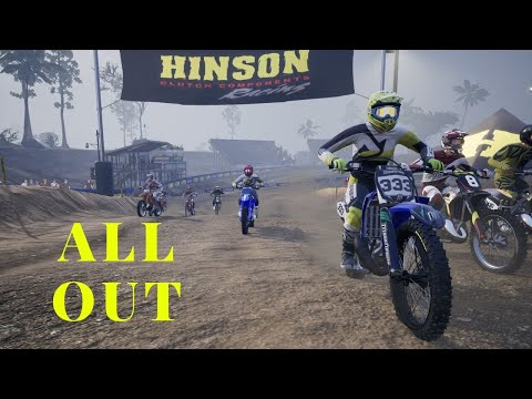 MX vs ATV All Out – Dirt Racing MotoCross Busting All The Stunts in All Out with Center Coast Video