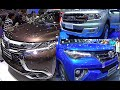 2015, 2016 Toyota Fortuner, Ford Everest, Ford Ranger, Mitsubishi Pajero