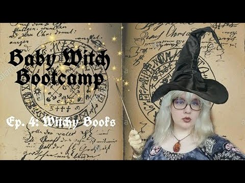 Books for New Witches (Baby Witch Bootcamp Ep. 4)