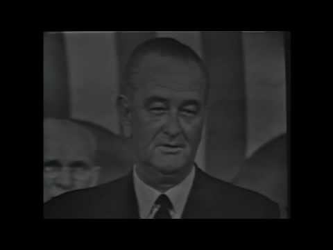 President Johnson's 1965 State of the Union Address, 1/4/1965.