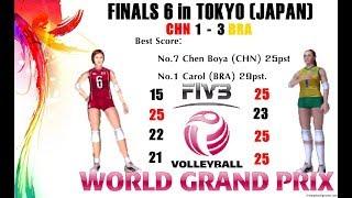 [Finals 6] China vs Brazil - Volleyball Women