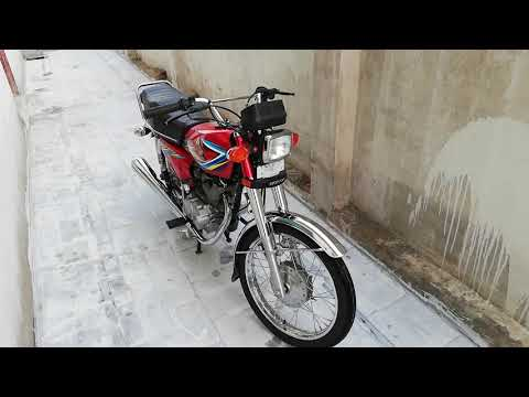 Honda CG 125 Euro 2 Silencer modification and sound test