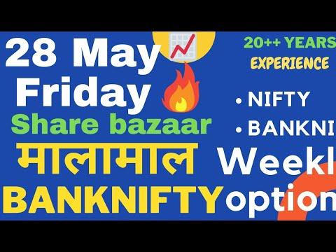 Friday Market 28 May 2021 | NIFTY BANKNIFTY PREDICTION FOR TOMORROW | Stock Market Trading TIPS