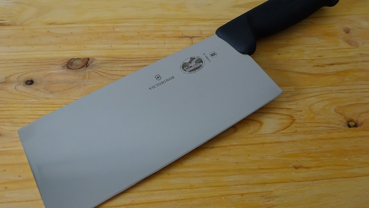 victorinox chinese chef s knife 5 4063 18 swiss made chinese victorinox chinese chef s knife 5 4063 18 swiss made chinese vegetable cleaver