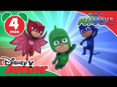 PJ Masks | Time To Be A Hero | Disney Junior UK