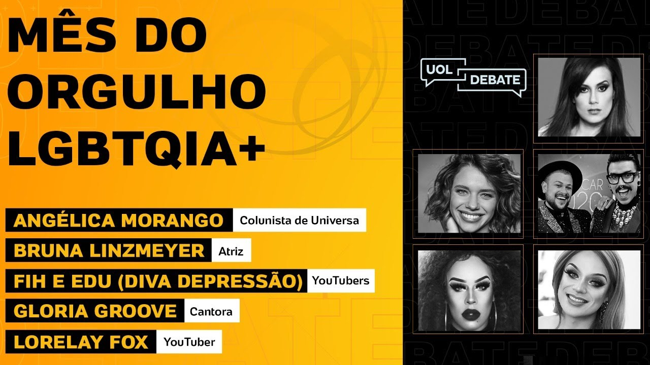 UOL DEBATE REÚNE ARTISTAS PARA FALAR SOBRE O MÊS DO ORGULHO LGBTQIA+ - online