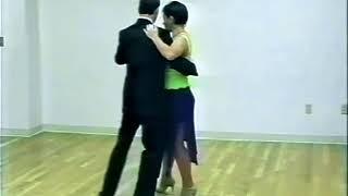Танго-вальс. Урок 4. Простая салида с очо