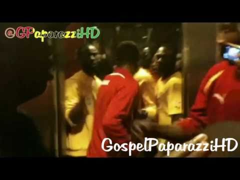 GHANAIAN FOOTBALL PLAYERS PRAISING GOD - GospelPaparazziHD