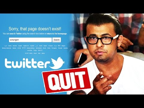 Thumbnail: Sonu Nigam DELETES His Twitter Account - Shocking Reason Revealed