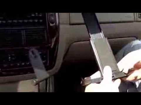 Bracketrons Universal Tablet Cup Holder Car Mount Instalacion Youtube