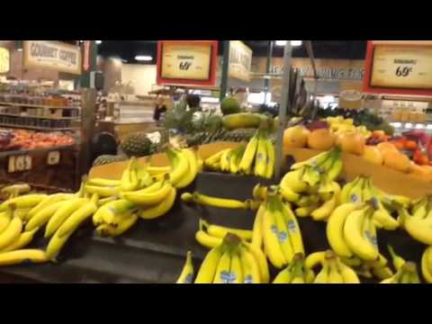 Conventionally grown bananas