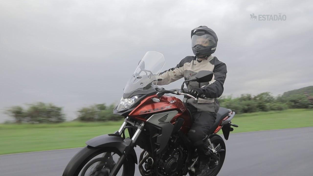 Veja como anda a nova Honda CB 500X
