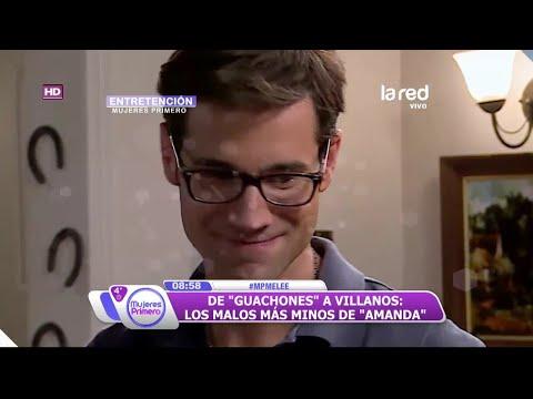 "Álvaro Gómez o Ignacio Garmendia ¿Cuál es tu antagonista favorito de ""Amanda""?"