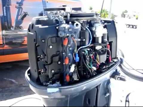 Outboard Engine Inspection & Thermal Imaging of a Yamaha Engine - Marine Surveyor Palm Beach