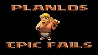 #1 Clash of Clans FAILS ★ PLANLOS FAILS gg A L'Attack