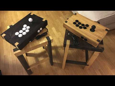Arcade Controller DIY from Recycled Pallet Wood