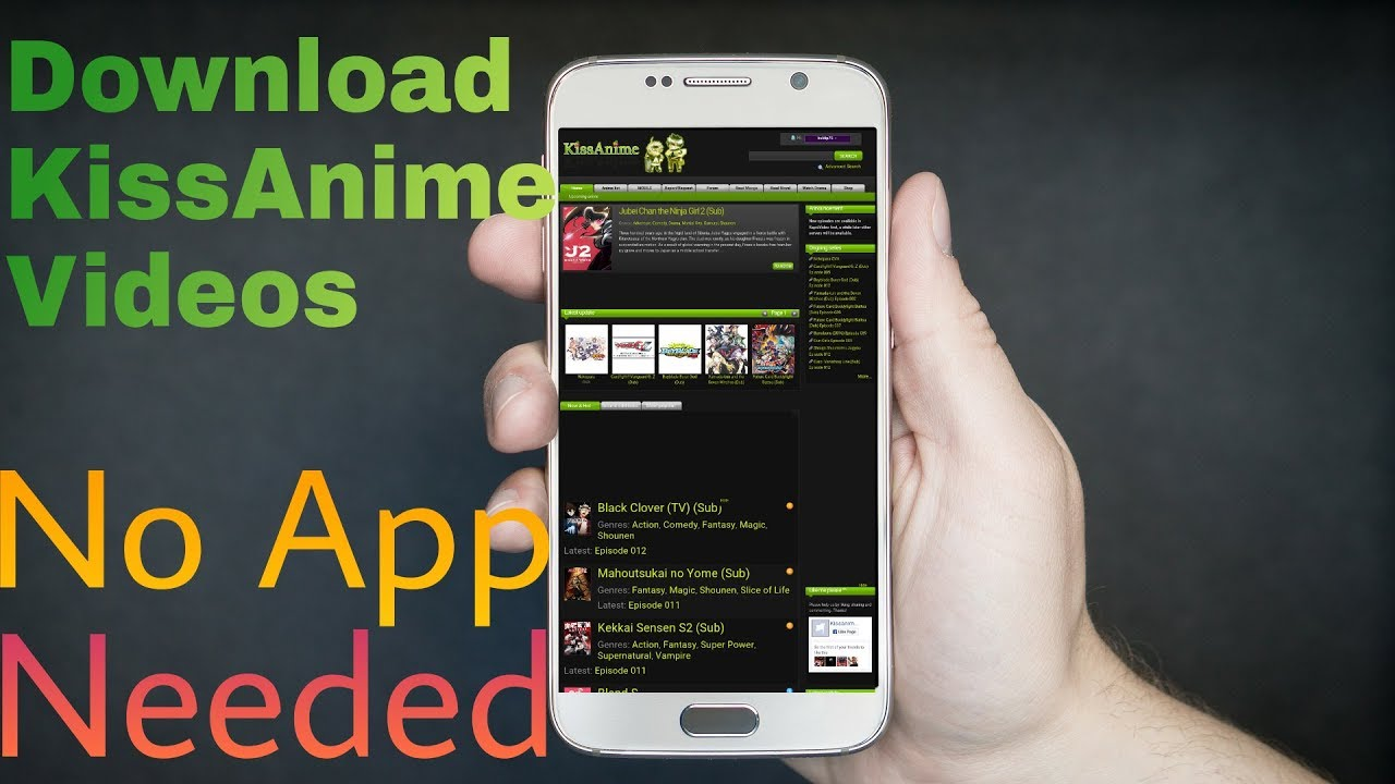 how to download videos from kissanime to iphone
