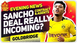 Sancho To Man United Deal Incoming | MUFC News