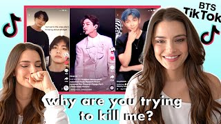 Reacting to Viral BTS TikToks   JK focus