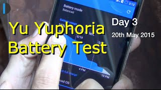 Micromax Yu Yuphoria Battery Test- How Long Does It Last?