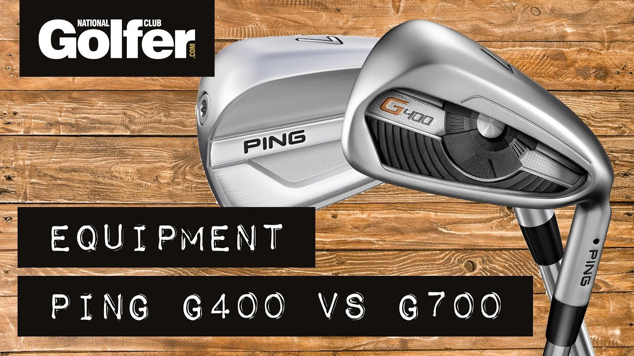 Ping G700 Irons v Ping G400 Irons - YouTube