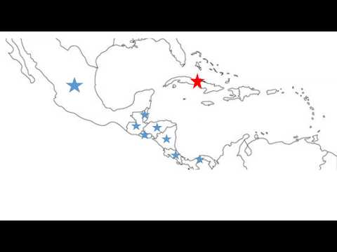 Map Review: Central Amer and Caribbean