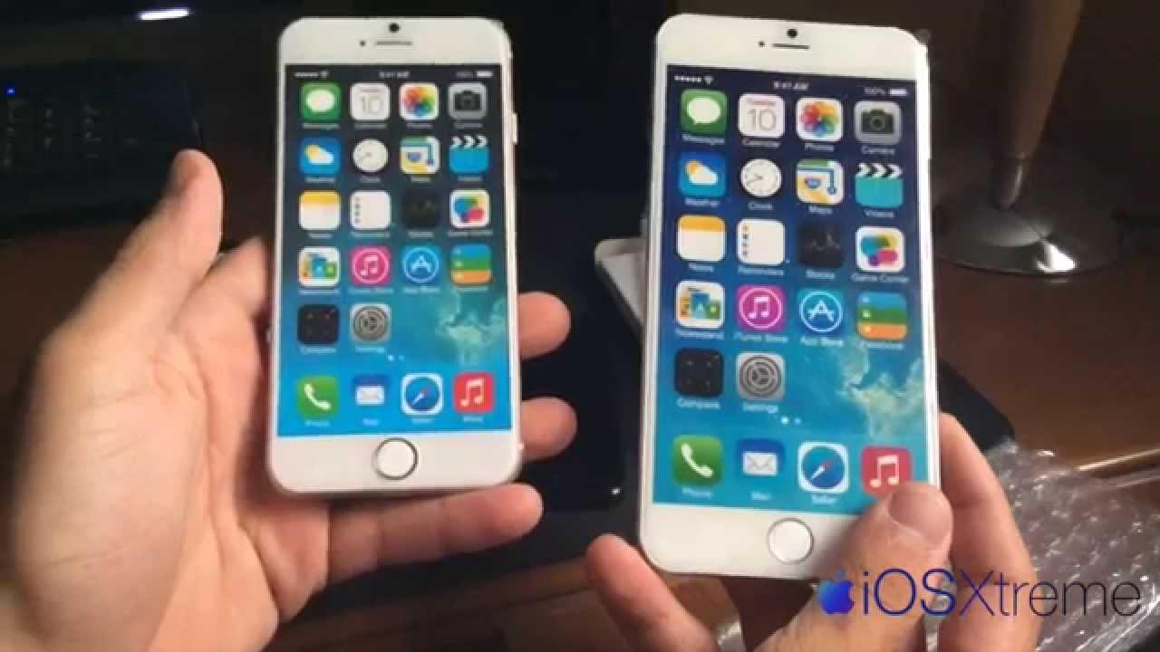 Diferencia Entre Iphone  Y  Plus