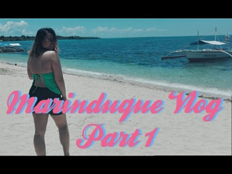 MARINDUQUE VLOG PART 1