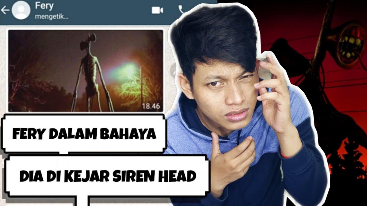 SIREN HEAD DATANG KE RUMAH AKU😱 | Siren Head Part 2 - Chat Story Horror #TERSERAM