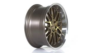 TSW Alloy Wheels - Avalon in Bronze w/ Brushed Bronze Face & Machined Lip
