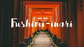 Stroll in Fusimi-inari Taisha, KYOTO [4K]