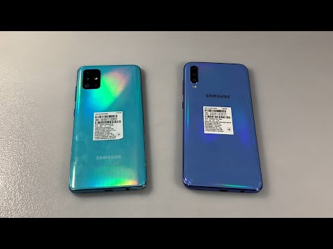 Samsung Galaxy A51 Vs Samsung Galaxy A70