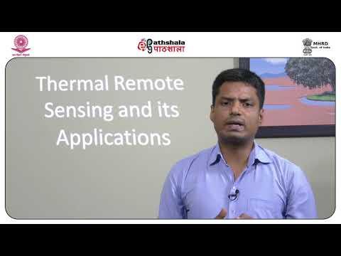 Thermal remote sensing
