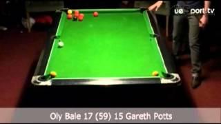 £20,000 8-Ball Money Match - Gareth Potts v Oly Bale - Part 8 of 10