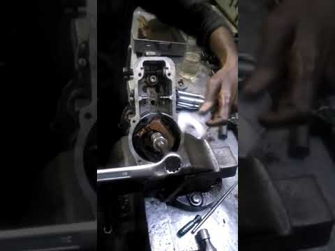 disassembling governor from diesel pump (inline pump)