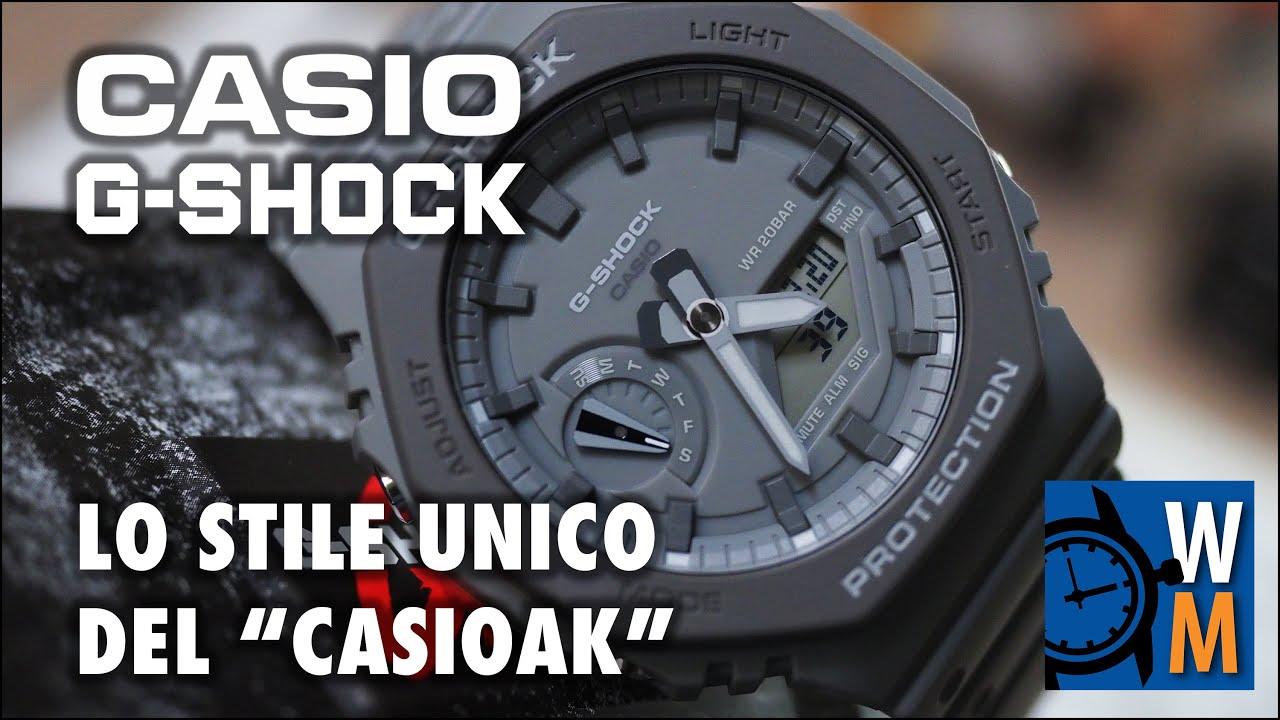 """Casio G Shock GA-2110ET-8AER, la recensione del """"CasiOak"""""""