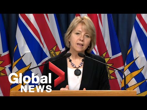 Coronavirus outbreak: B.C. announces 4 new COVID-19 deaths as new cases hit 3-week low | FULL