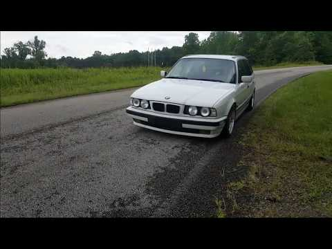 Bmw e34 525i e34 touring m50 straight pipe