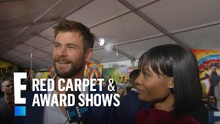 "Chris Hemsworth on Miley & Liam Attending ""Thor"" Premiere 