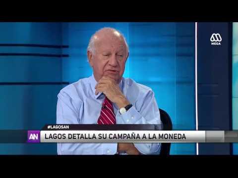 [ENTREVISTA] Ricardo Lagos detalla su campaña a La Moneda
