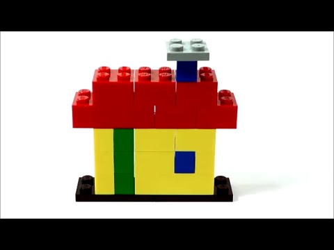 Simple 2D LEGO House (How To Build) - YouTube
